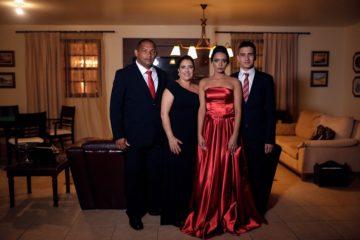 Famila de empresarios portugueses no Brasil