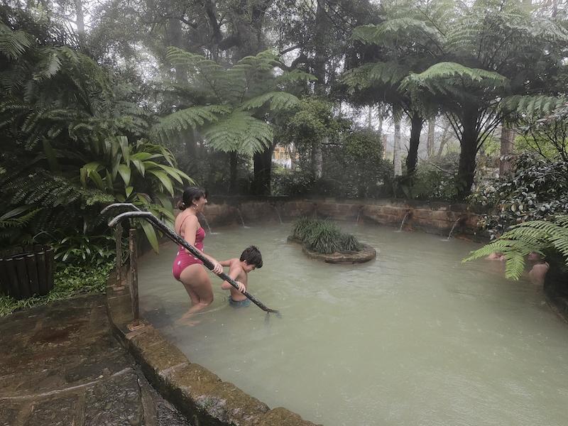 Piscina Termal nos Açores