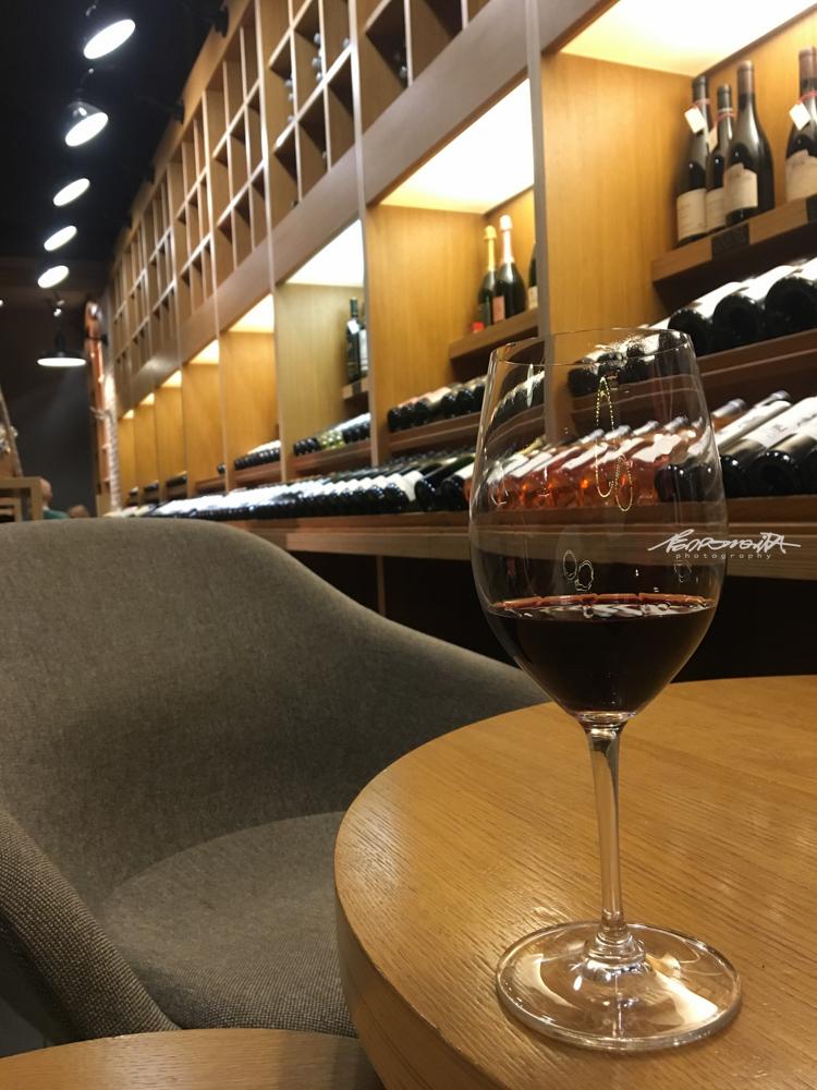 Copo de vinho tinto de Bordéus