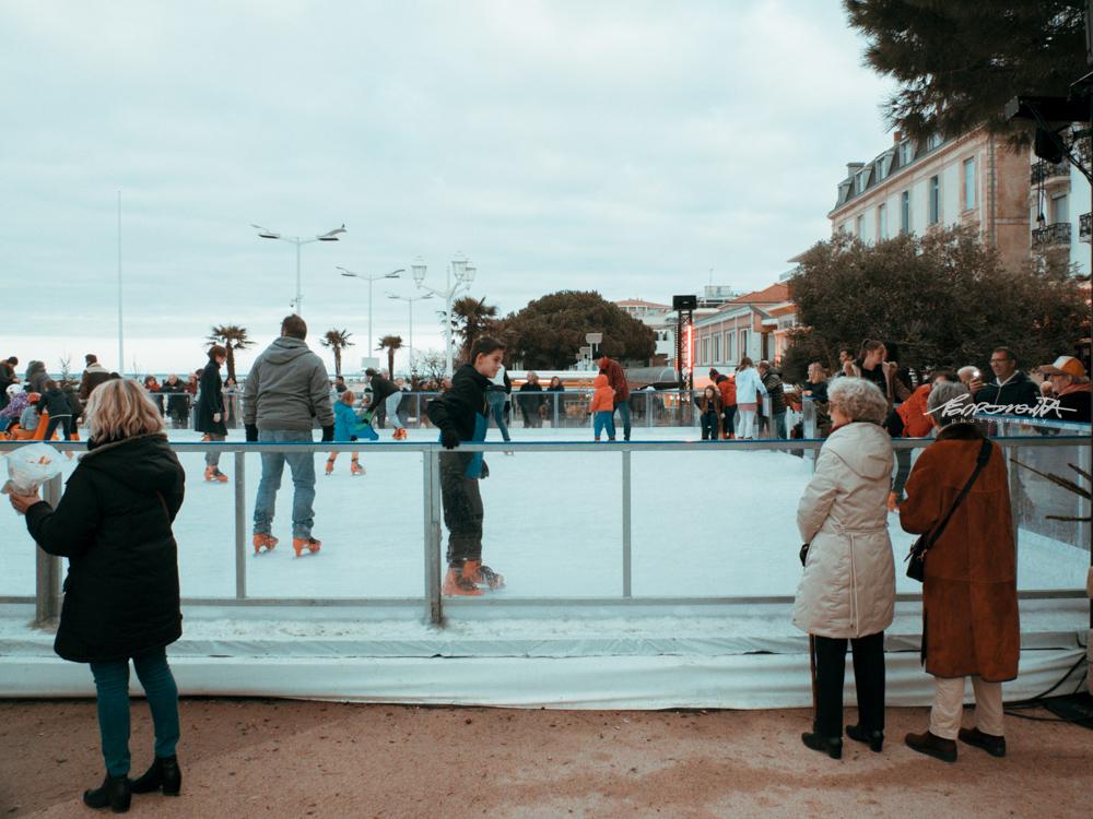 ringue de patinagem no gelo