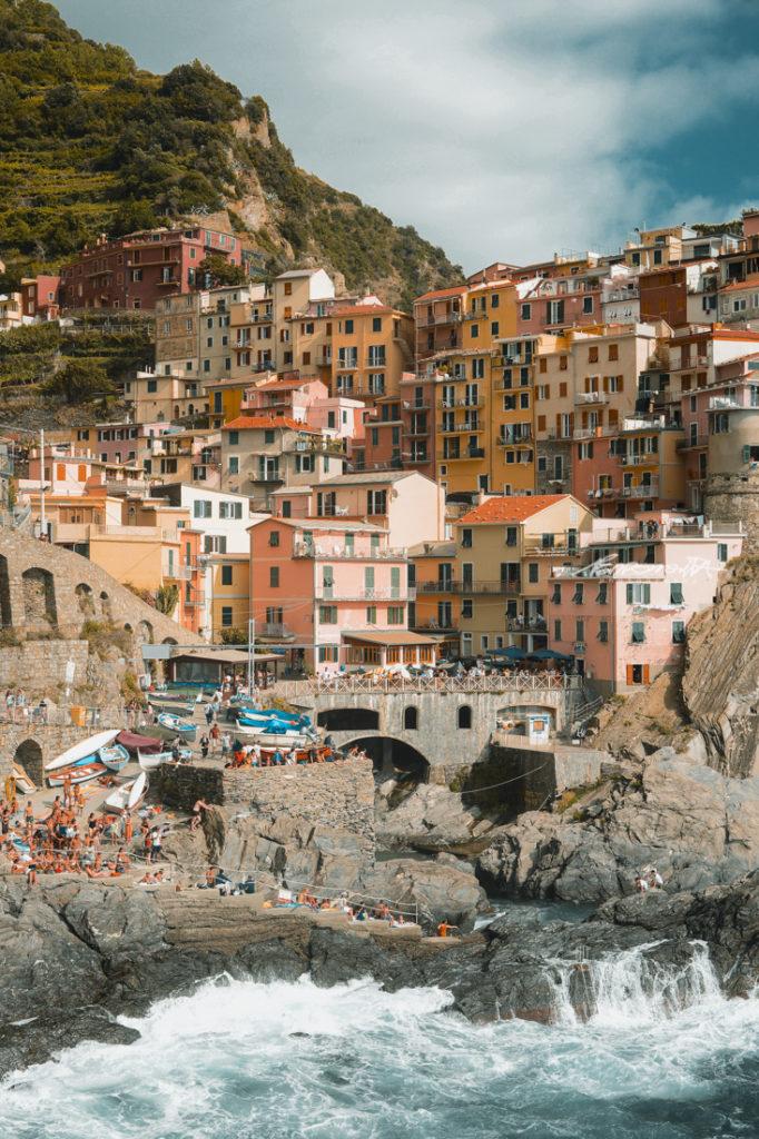 Zona costeira Itália