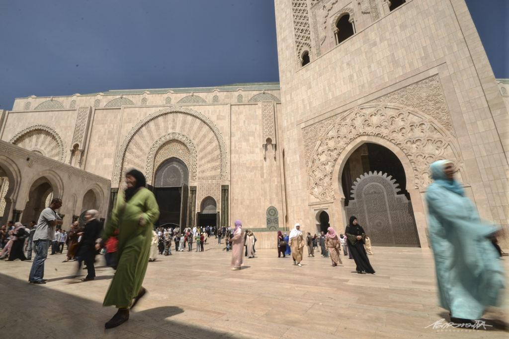 Mesquita hassan II em casablanca