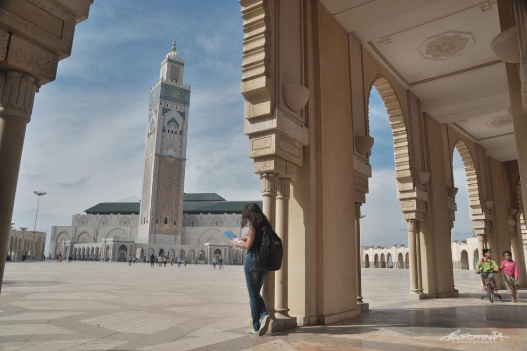 Arcadas da mesquita