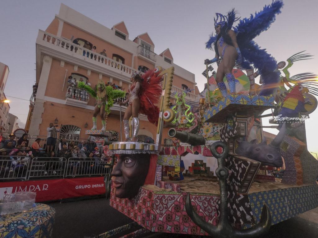 Carro alegórico de Carnaval