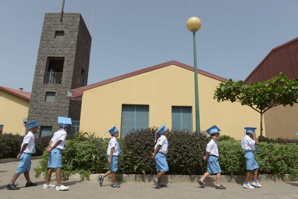 alunos finalistas na escola