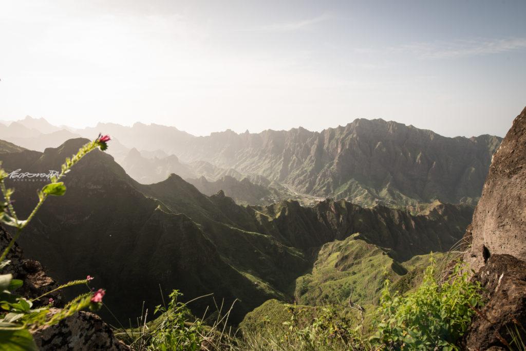 montanhas da ilha de santo antão