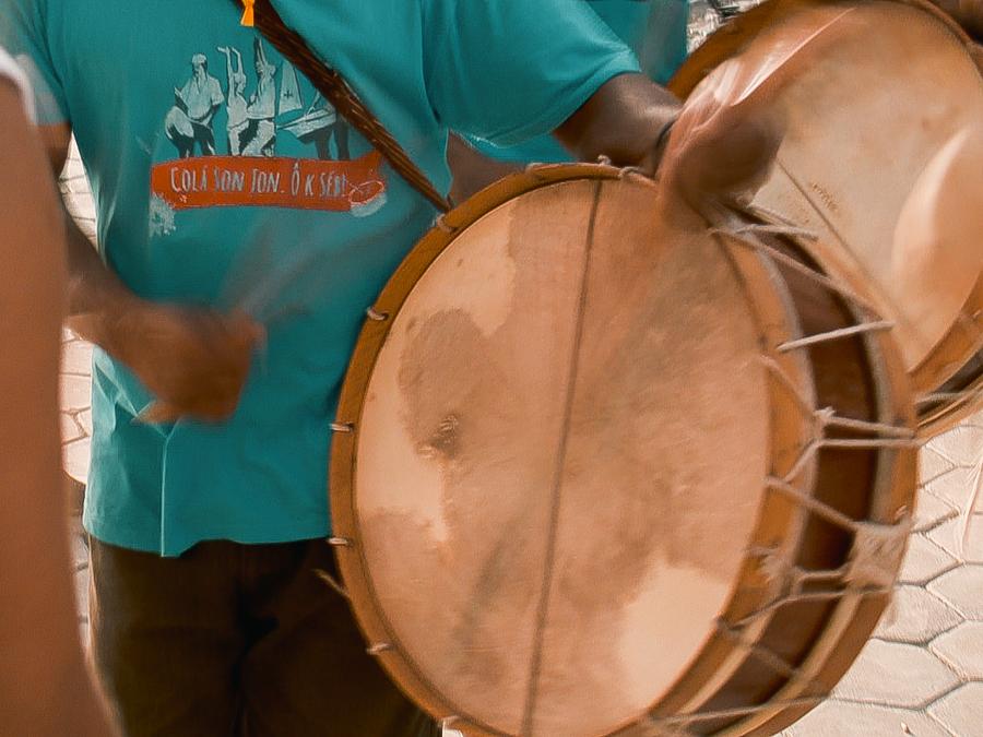Tambor tradicional