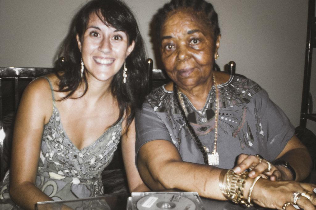 Cesária Évora com Soraia Deus